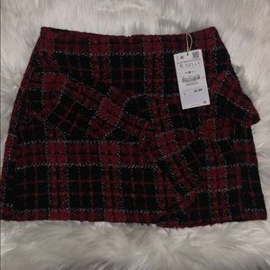NWT Zara Tweed Skirt!
